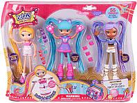 Набор из 3х кукол-конструкторов Betty Spaghetti Бэтти, Люси и Зоуи