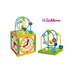Куб развивающий сортер счеты Eichhorn 2235