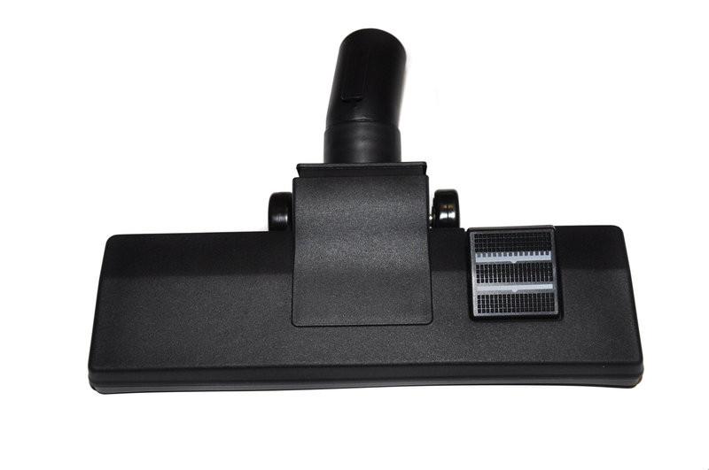 Щетка ковровая Ø-35 одна клавиша, открытые колесики