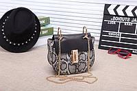 Женская кожаная сумка Chloe Хлое