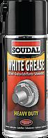 Смазывающий аэрозоль Soudal White Grease 400мл