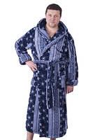 Мужской махровый халат-зимний