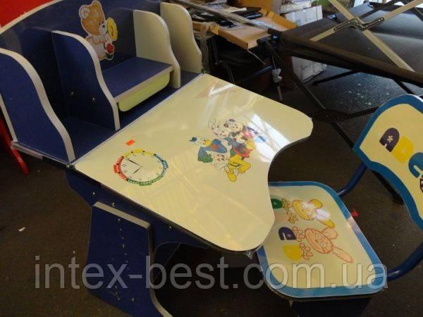 Регулируемая детская парта растишка со стульчиком 60304 (прототип Bambi 2881-01)