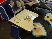 Регулируемая детская парта растишка со стульчиком 60304 (прототип Bambi 2881-01), фото 1
