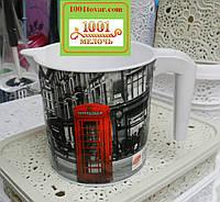 Кружка пластиковая Еlif (Элиф), с рисунком London (Лондон)