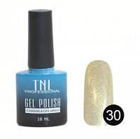 """Гель-лак """"TNL - """"chameleon"""" эффект №30 - золотистый марсианин (10 мл.)"""
