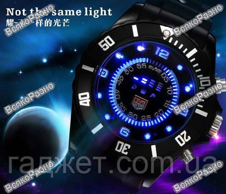 Мужские эксклюзивные led часы TVG, фото 2