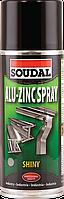 Антикоррозионный аэрозоль Soudal Alu-Zinc Spray 400мл