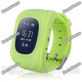Умные часы, детские Smart часы, Smart Baby Q50 c GPS треккером салатового цвета. Оригинал