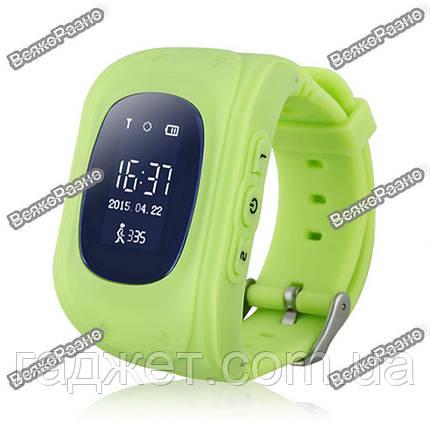 Умные часы, детские Smart часы, Smart Baby Q50 c GPS треккером салатового цвета. Оригинал, фото 2