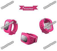 Умные часы, детские Smart часы, Smart Baby Q50 c GPS треккером розового цвета. Оригинал
