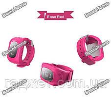 Умные часы, детские Smart часы, Smart Baby Q50 c GPS треккером розового цвета. Оригинал, фото 2