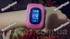 Умные часы, детские Smart часы, Smart Baby Q50 c GPS треккером розового цвета. Оригинал, фото 3