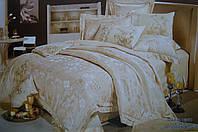 Комплект постельного белья GoldenTex S9016 Жаккард Сатин 150*210 (Полуторный)