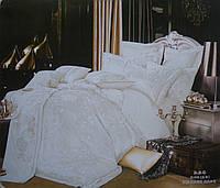 Комплект постельного белья GoldenTex S042 Жаккард Сатин 150*210 (Полуторный)