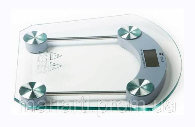 Электронные напольные весы, стеклянные, до180 кг, Скидки, фото 2
