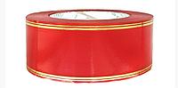 Лента флористическая красная (5 см х 50 ярдов)