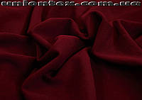 Креп- дайвинг трикотаж бордовый