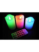 Набор светодиодных свечей Luma Candles Color Changing, Скидки, фото 2