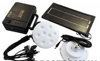 Набор светодиодные лампы + солнечная батарея GDLITE GD-8006, фото 1