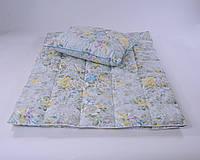Одеяло пуховое 140×205 GRAY PREMIUM (80% серый пух 20% перо 900г)