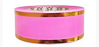 Лента флористическая розовая (5 см х 50 ярдов)