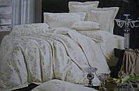 Комплект постельного белья GoldenTex S9031 Жаккард Сатин 150*210*2 (Семейный)