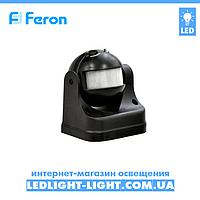 Накладний датчик руху Feron SEN11 чорний