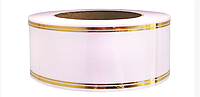 Лента флористическая светло-розовая (5 см х 50 ярдов)