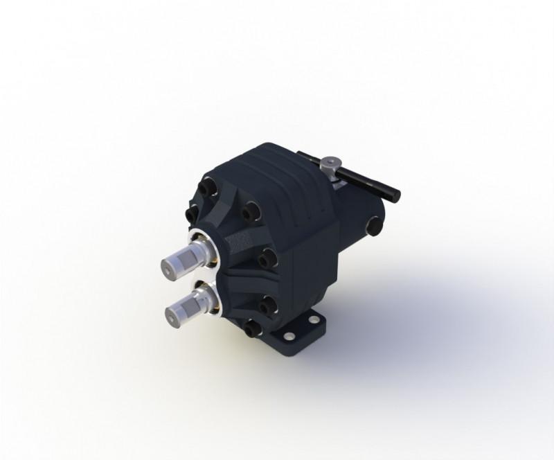 82 л Шестеренчатый гидравлический насос с механическим контролем (реверсный) Bi-Directional Hiposan