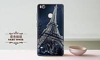 Чехол с рисунком для Xiaomi MI4S  Эйфелева башня