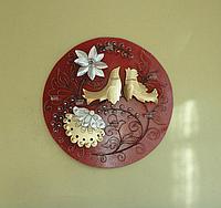 Подсвечник настенный «Украинский сувенир на диске»