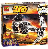 Конструктор Звездные войны Space Wars Улучшенный прототип истребителя Bela 10373 (аналог LEGO), 354 детали