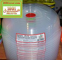 Крышка пластиковая для СВЧ или для хранеия продуктов с клапаном