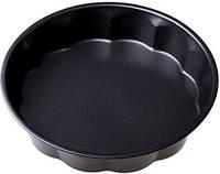 Форма для выпечки круглая 27,5*7cm, противень с антипригарным покрытием