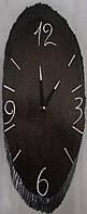 Часы настенные из натурального дерева- Капля