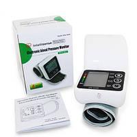 Тонометр электронный на запястье HailiCare JZK-002R индикатор аритмии, память на 2пользователя по 99 измерений, фото 1