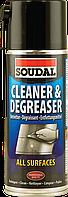 Аэрозоль Soudal Cleaner & Degreaser для очистки и обезжиривания 400мл