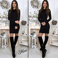 Черное мини платье 2016