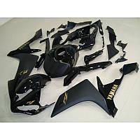 Пластик на мотоцикл Yamaha YZF1000 R1 07-08 dark black