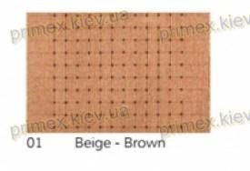 Ворсовой ковер СТЭНФОРД ЭЛИТ, цвет бежево-коричневый