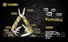 Мультитул складной многофункциональный Ganzo G2016-P, фото 3