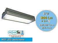 Антивандальный Led светильник ЖКХ, аналог лампы накаливания 100W