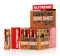 Carnitine 3000 Shot Nutrend, 20 ампул по 60 мл