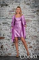 Ночная сорочка шелковая Serenade (Серенада) 642 ФРЕЗЬ
