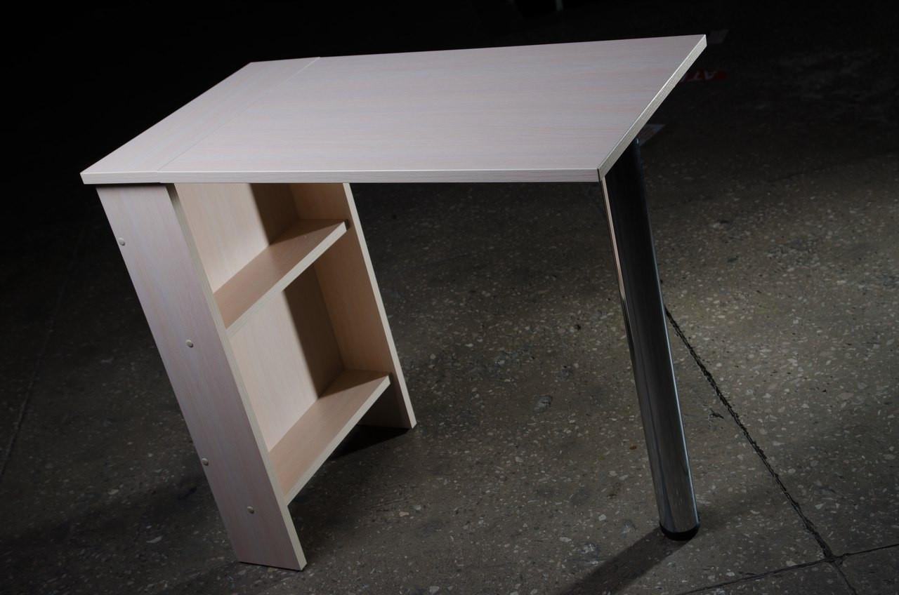 Стол для маникюра, раскладной, молочный mini.