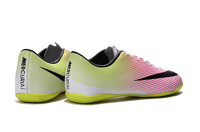 Футзалки (бампы) Nike Mercurial Victory V IC White/Black/Volt/Total Orange