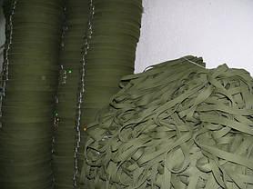 Лента ременная ХБ 30 мм техническая брезентовая (стропа хлопчатобумажная вожжевая), фото 3