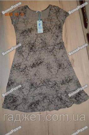 Легкое летнее платье серого цвета., фото 2