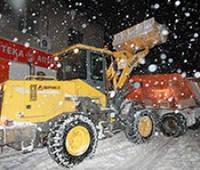 Уборка снега с территорий предприятия